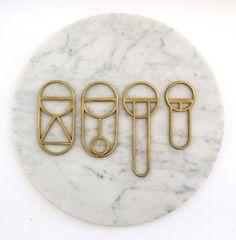 geometric bottle openers