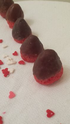 Scented Wax Tarts in Chocolate Dipped Strawberries - Candle Melts
