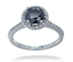 Black Diamond Engagement Rings Under 500 Dollars 48