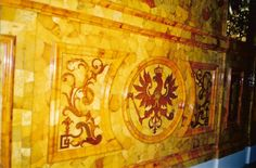 Catherine Palace ~ Amber Room, details of the reconstructed amber artistry. Amber Room, Peter The Great, Winter Palace, Imperial Russia, Gems And Minerals, Wonders Of The World, Fine Art, Adventure, History