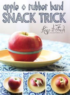 Or apples that you precut and secure with a rubber band. | 25 Make-Ahead Snacks That Are Perfect For Traveling