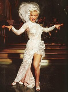 Marilyn Monroe, There's no business like show business 1954.