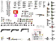 Thing Thing Sprite Sheet by Father-Alexander on deviantART