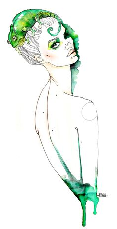 Artist: Sara Ligari #fashion #illustration
