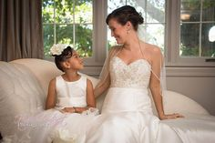 #wedding #bride #flowergirl #candid #cute #photography by High Contrast Photography, Rockfield Manor, Bel Air, MD