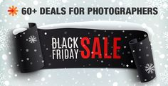 The first and most comprehensive list of Black Friday deals for photographers in 2014. 60+ discounts including actions, templates, training, cameras, hardware, printing, and ebooks. By http://photographyspark.com #BlackFriday #CyberMonday