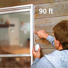 No more fussing with drippy, messy caulk or finicky caulking guns… Camper Windows, Door Seals, Energy Efficient Homes, Home Management, Home Repair, Diy Projects To Try, Home Improvement Projects, Diy Painting, Home Remodeling