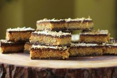 No-Bake Salted Coconut Molasses Bars & More Recipe Contest Winners - Crosby's Molasses Recipe Contest Winners, Coconut Candy Bars, Toasted Coconut, Granola Bars, Cookie Bars, Melting Chocolate, Rice Krispies, My Recipes