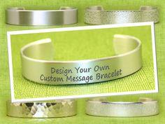 Design Your Own Bracelet  Bridesmaid Gifts  Bridal by KorenaLoves