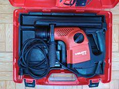 . Vendo taladro combinado Hilti TE16 de 600W de potencia en su malet�n y con el manual de instrucciones incluido. Funciona perfectamente y est� muy bien conservado. Poco uso