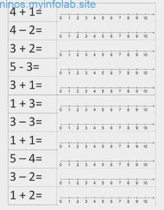 First Grade Math Unit 12 Adding 3 Numbers Montessori Math, Preschool Learning, Kindergarten Worksheets, Teaching Math, Kindergarten Addition, Subtraction Worksheets, First Grade Math Worksheets, 1st Grade Math, Math Facts