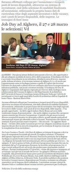 Alguer.it, 12 marzo 2015.  Il video al link: http://notizie.alguer.it/n?id=86748 #sononostriospiti