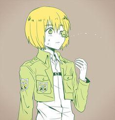 Attack On Titan Armin Aot Armin, Attack On Titan Art, Anime Characters, Fictional Characters, Me Me Me Anime, Webtoon, Fan Art, Manga, Cute