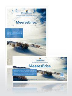 Print Advertising Upstalsboom Hotels und Ferienwohnungen.    Creative Commons BY-NC-ND 3.0