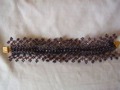 Victorian Bracelet - Mostly seed beads - Beaded Bracelet - Free Pattern from Beads Magic