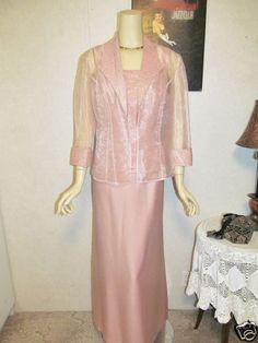 Mother Of The Bride Dress/Jacket Set