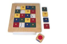 This picture completion game captures a childs attention while stimulating a mental focus, attention to detail and part-whole perception skills.