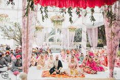 Searching for Delhi NCR Wedding Venues on budget? Check out these 5 top favourite under 1500 per plate hotels and lawn options for your Delhi Wedding. Sikh Wedding Decor, Outdoor Indian Wedding, Pink Wedding Decorations, Romantic Wedding Receptions, Romantic Weddings, Wedding Themes, Flower Decorations, Wedding Centerpieces, Wedding Venues