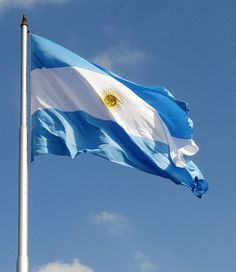 bandera ARGENTINA,