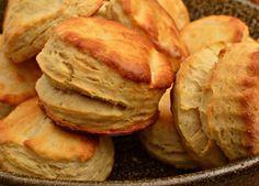 Buttermilk Biscuits la receta Americana para los panecillos de mantequilla!