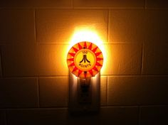 Atari Pinball Night Light. $15.00, via Etsy.