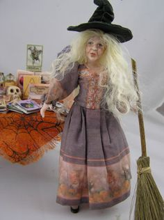 Lovely Witch.   An amazing creation of Loretta Kasza.