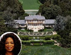 10 of the Most Expensive Celebrity Homes - Oprah Winfrey – $85 million