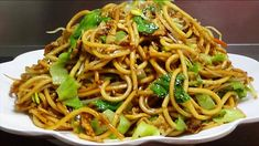 Noodle Recipes, Noodles, Spaghetti, Asian, Cooking, Ethnic Recipes, Food, Youtube, Chinese