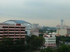 Top view from Blk 44 Sims Drive Singapore