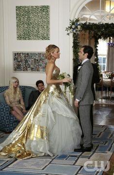 wedding dressses, gossipgirl, gold weddings, blake lively, gossip girl, the dress, future wedding, stunning dresses, white gowns