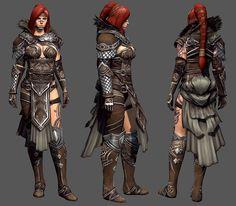 Guild Wars 2: Eir by ~YeeWu on deviantART