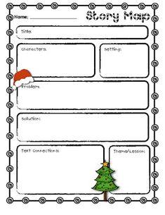 Free Christmas Story Map