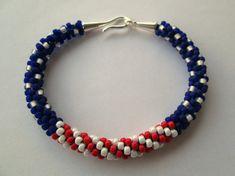 American+Flag+Bracelet+American+Flag+Jewelry+by+SadiesCottage