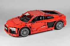 LEGO Audi R8 V10 Plus by fanylover