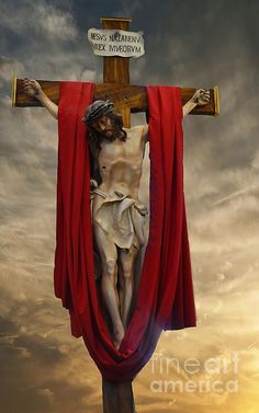 Good Friday-Jesus of Nazareth Pamela Briggs-Luther Jesus Crucifixion Pictures, Crucifixion Of Jesus, Pictures Of Jesus Christ, Catholic Pictures, Bible Pictures, Image Jesus, Jesus Drawings, Religion, Jesus Wallpaper