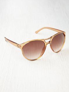 Free People Optimist Sunglasses, $19.95