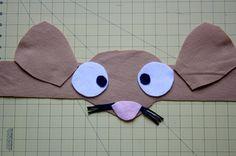 The Educators' Spin On It: DIY Gruffalo Inspired Mouse Costume Headband