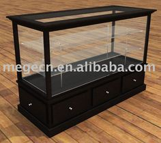 Leather Boutique Display Cabinet