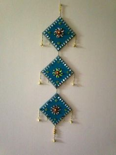 18 Best Wall Hanging Images Art N Craft Diwali Decorations