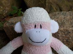 sock monkey doll sock monkey sock monkeys by socksandmonkeyhugs, $27.00