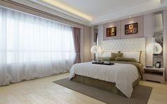 Chambres à coucher avec des palettes neutres ~ Décor de Maison / Décoration Chambre