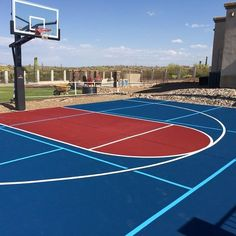 How much does it cost to install a basketball court for How much does a sport court cost
