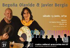 Publicidad Generación del 27. Begoña Olavide y Javier Bergia.