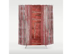 This is original artwork designed by us we call Rustic Barn. Give your bathroom the look of a vintage and rustic barn with its weathered wood.  Customize your bathroom decor with our unique shower curtains. Made from 100% polyester our designer shower curtains are printed in the USA and feature a 12 button-hole top for simple hanging. The easy care material allows for machine wash and dry maintenance. Curtain rod, shower curtain liner and hooks not included. Dimensions are 71 in. by 74 in…