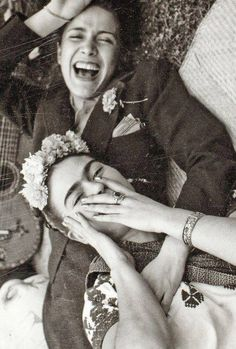 Frida Kahlo and Chavela Vargas+