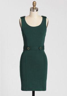 ShopRuche.com Topiary Garden Belted Dress