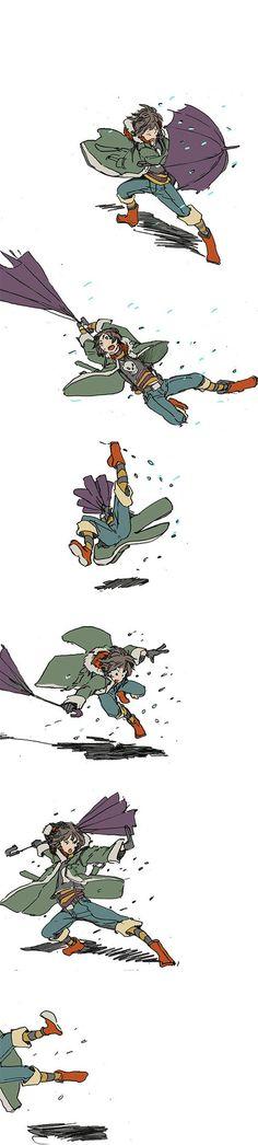 Marie vs Storm by hira-geco.deviantart.com on @DeviantArt
