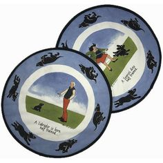 Tottering By Gently Hob Covers - Labrador/Spaniel Set Cooker Hobs, Linen Bedding, Bed Linen, Funny Illustration, Dog Gifts, Tea Towels, Labrador, Decorative Plates, Cover