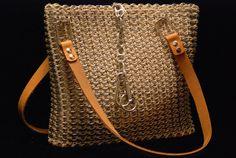 soda tab/hemp tote bag by oswaldesigns on Etsy, $80.00