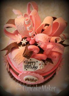 Celebration- 21st Birthday Cake project on Craftsy.com